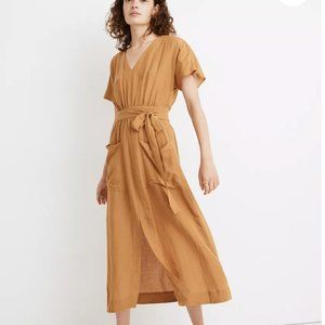 NWT!!! Madewell Linen Midi Dress, 2